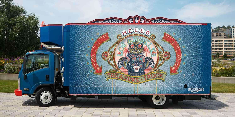 Meet the Fleet Los Angeles Trucks, Things
