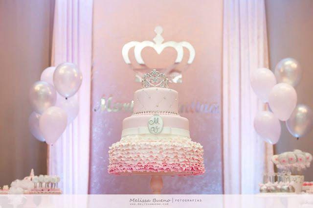 Aniversario Real Tema Princesas Festa Princesa Festa