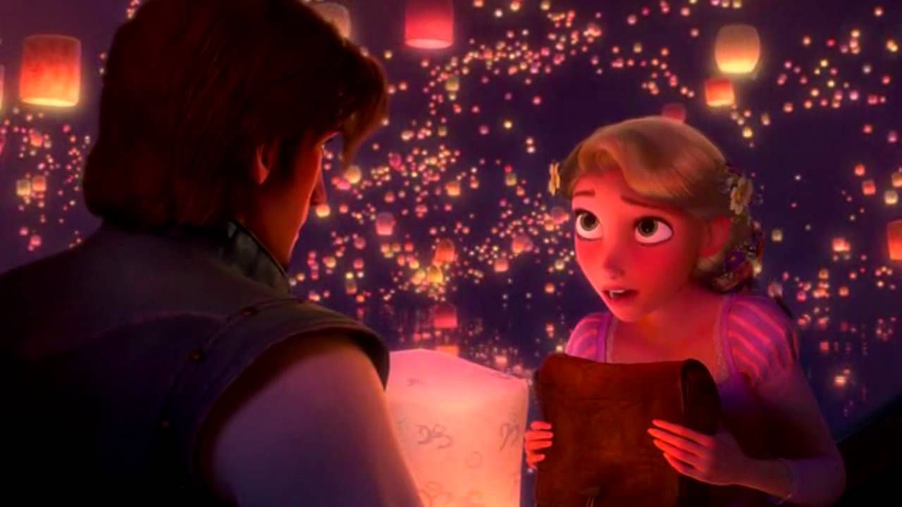 Veo En Ti La Luz Disney Enredados Hd I Saw The Light Rapunzel Movie Beautiful Songs