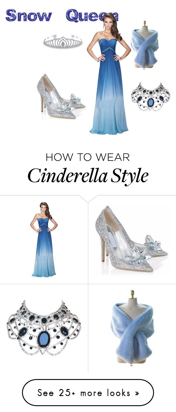 """Queen of Snow and Ice"" by ivyrose55 on Polyvore featuring La Femme, Posh Girl, Bling Jewelry and SnowQueen"