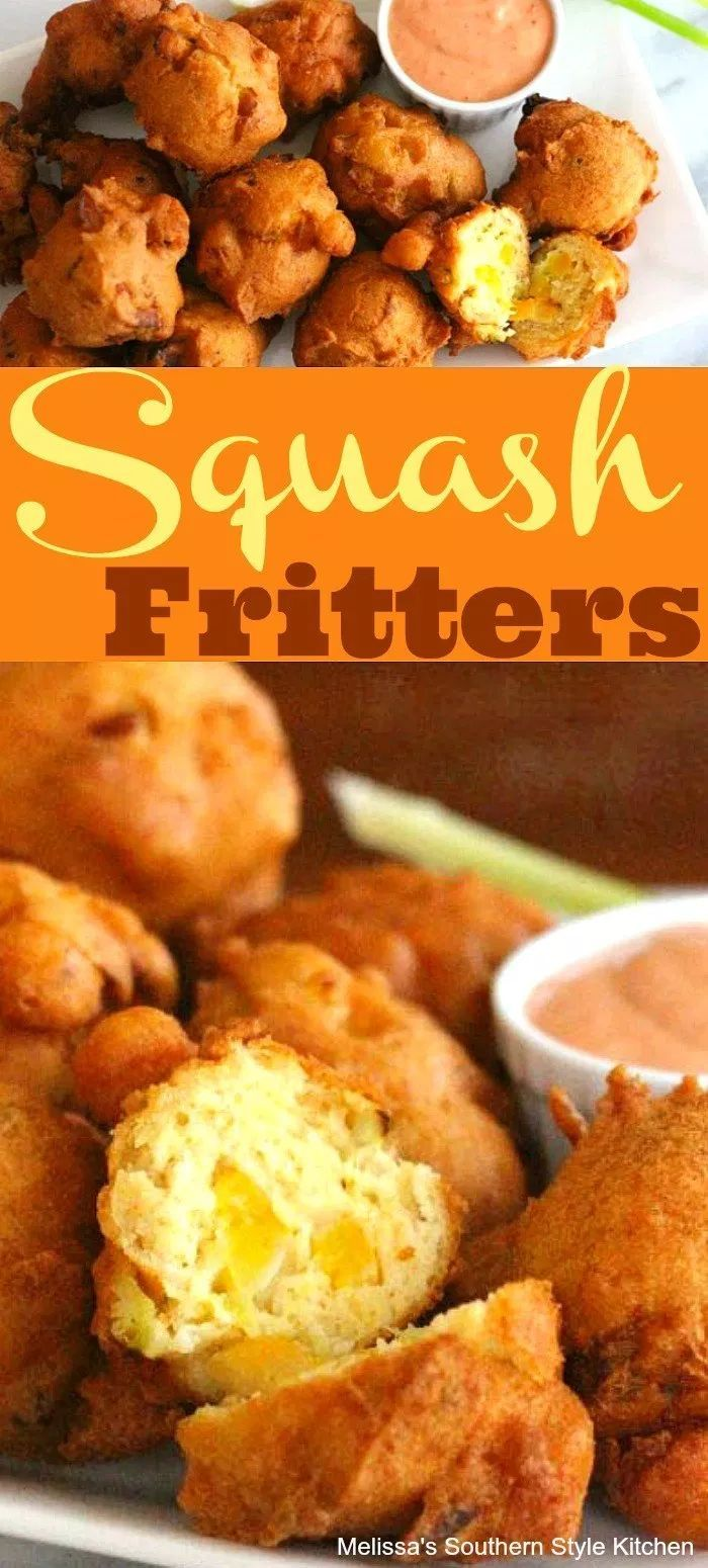 Squash Fritters With Sriracha Dipping Sauce