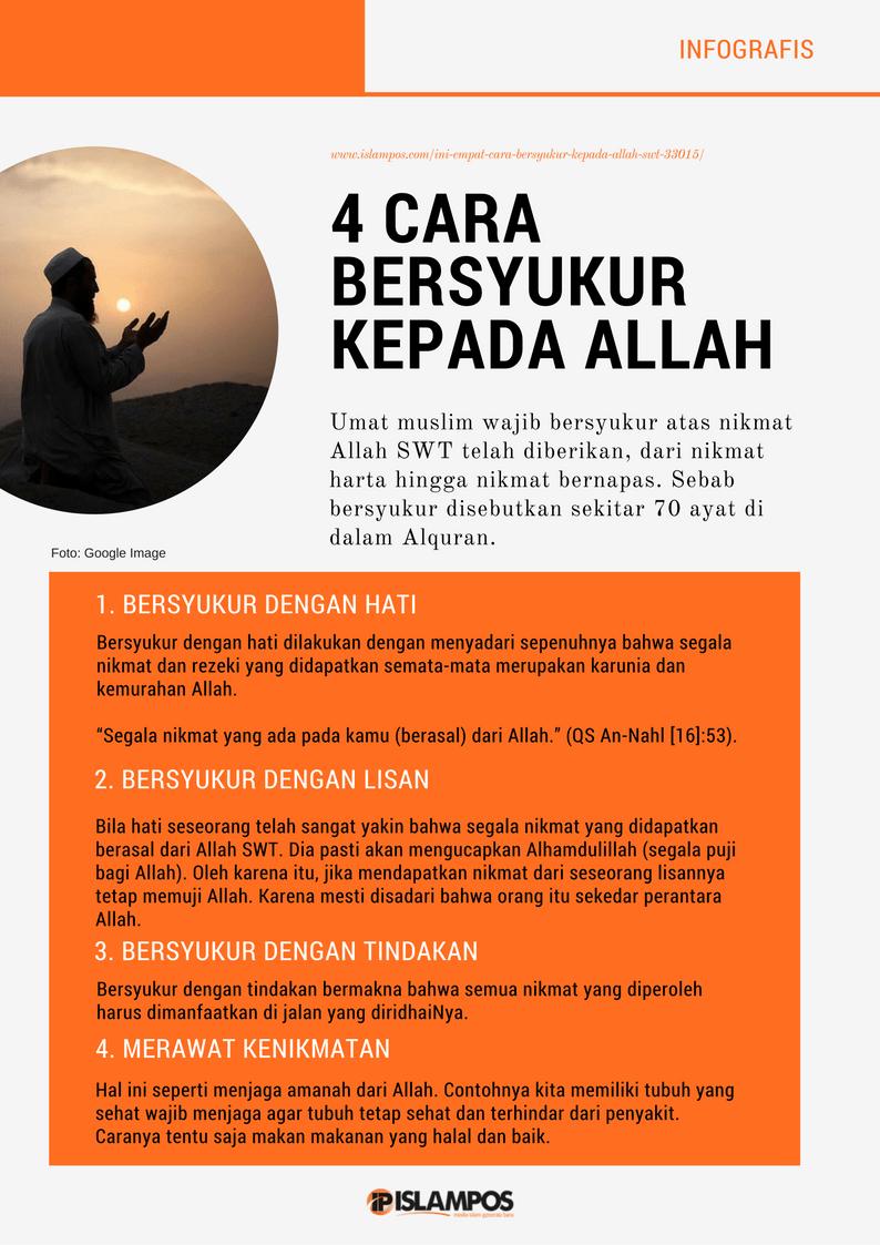 4 Cara Bersyukur Islamic Quotes Kutipan Tentang Kehidupan Kutipan Inspirasional