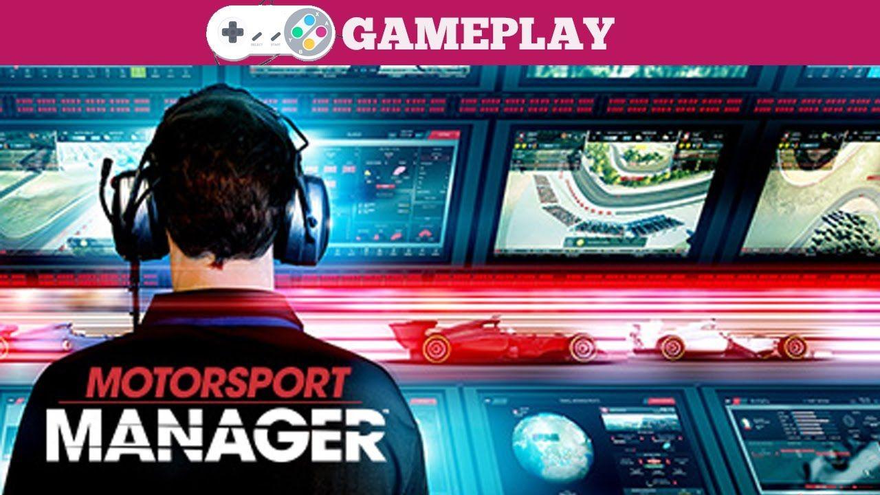 Motorsport Manager Gameplay