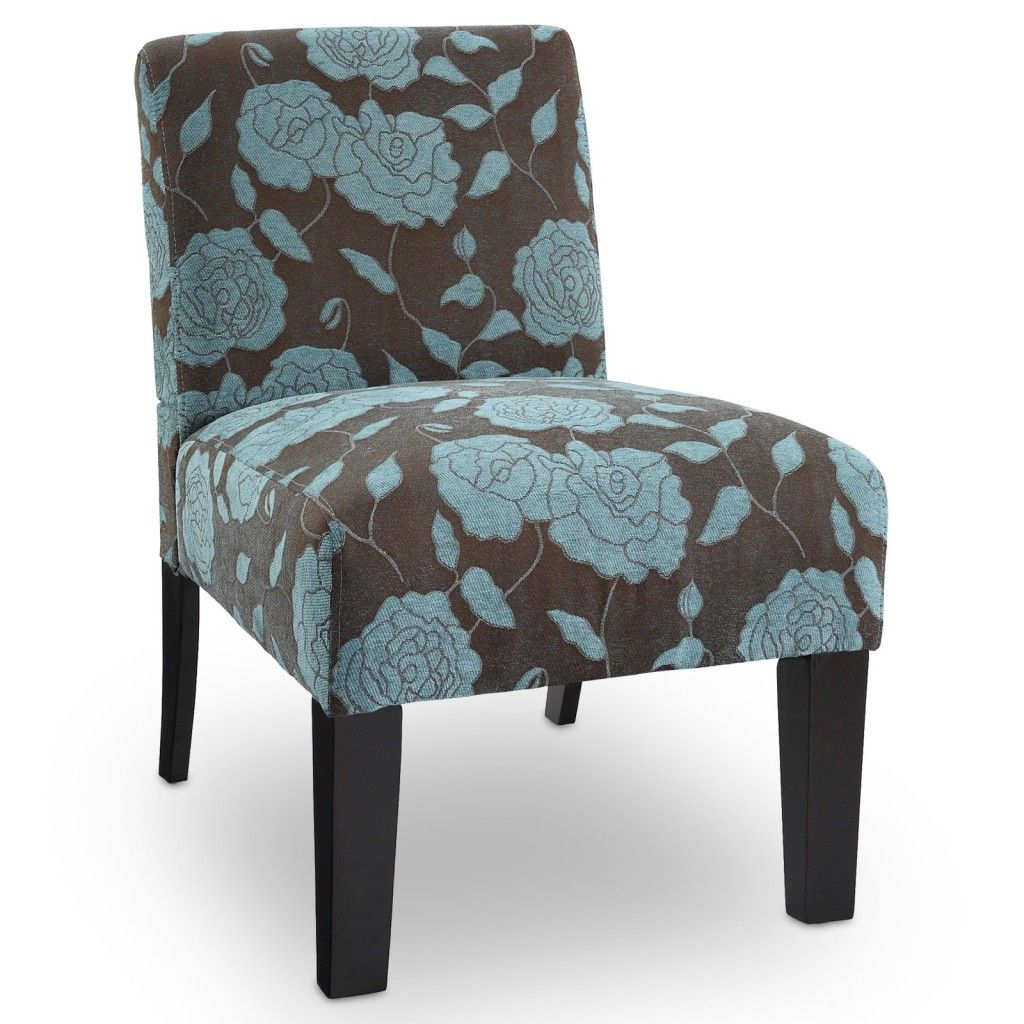 Deco accent chair rose cabana way upholstered accent