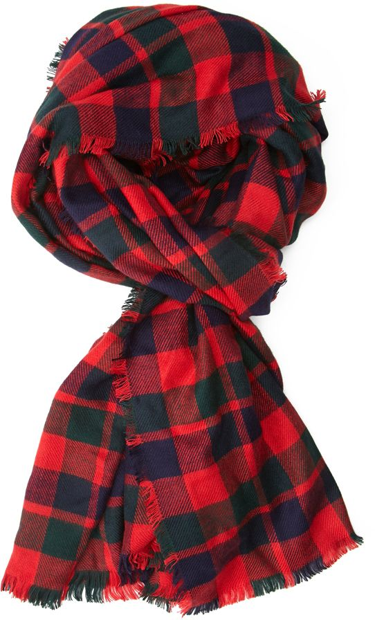 bcee92d0cc8a5 Forever 21 FOREVER 21+ Frayed Plaid Scarf on shopstyle.com   Gifts ...