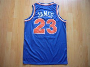 reputable site b489a ac363 Cleveland Cavaliers NBA Lebron James #23 Blue Hardwood ...