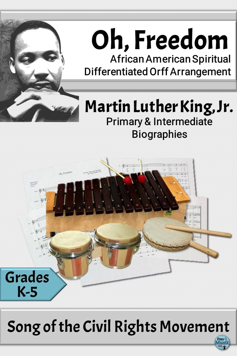 Black History Month Lessons Are A Natural Fit In The Elementary Music Classroom Spirituals Are Always A Favor Orff Activities Elementary Music Music Classroom