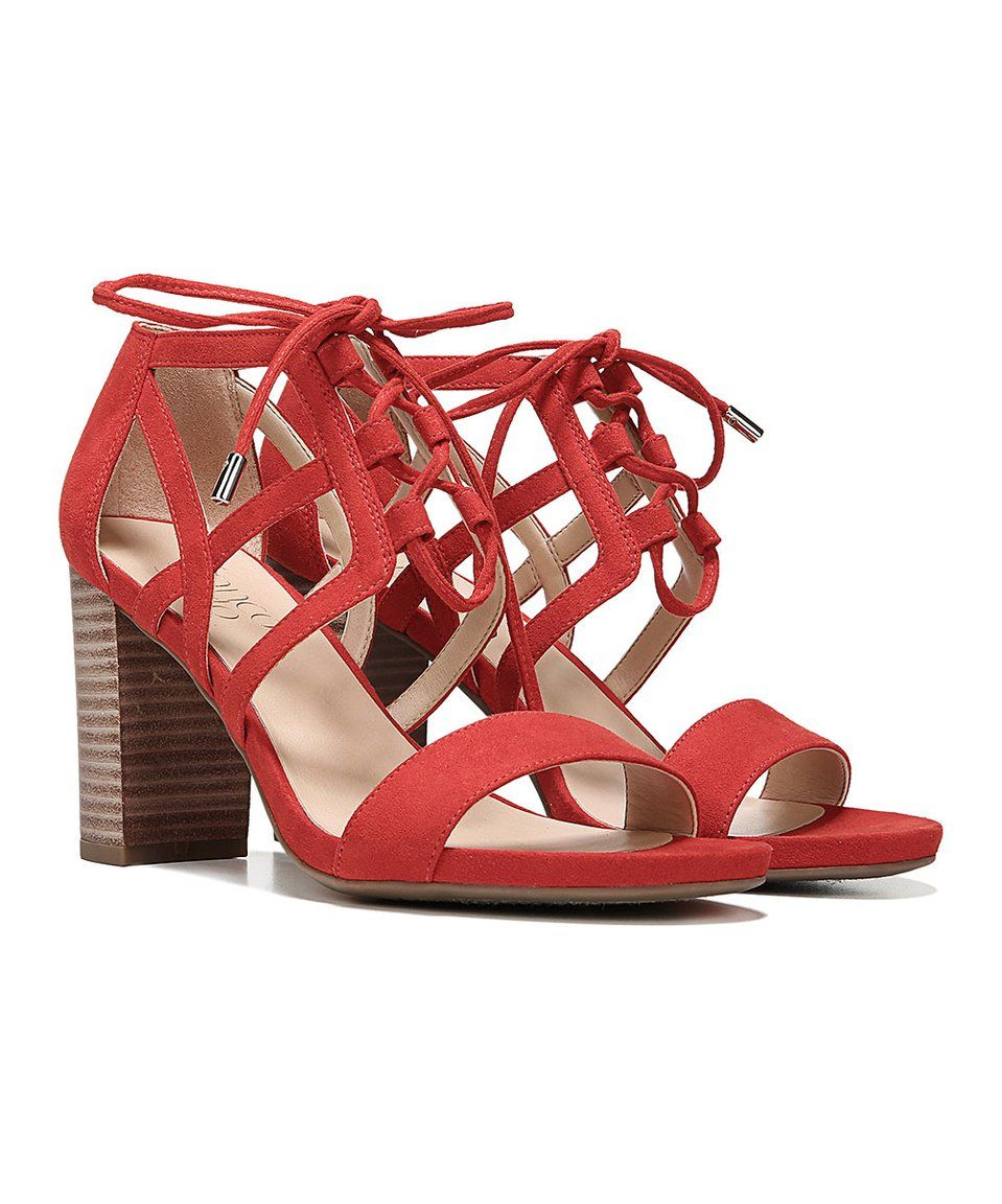 f1725d0f0c9a Take a look at this Hibiscus Red Jewel Sandal today!