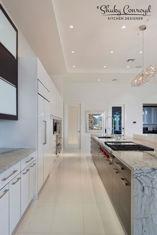 Contemporary Kitchen Design By Shuky Conroyd, Kitchen And Bath Designer.  Photo Taken By Edward Butera/ibi Designs/Boca Raton/2014