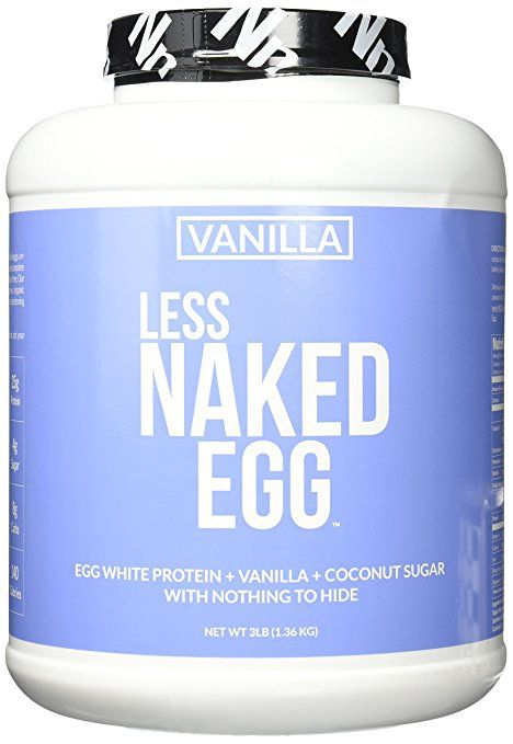 VANILLA LESS NAKED EGG  Ingredients: egg white protein