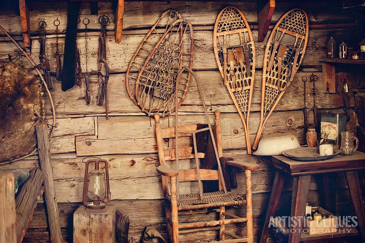 Hunting Cabin Interior Do It Yourself Hunting Cabins: Inside A Trapper Cabin 15/365 In 2019