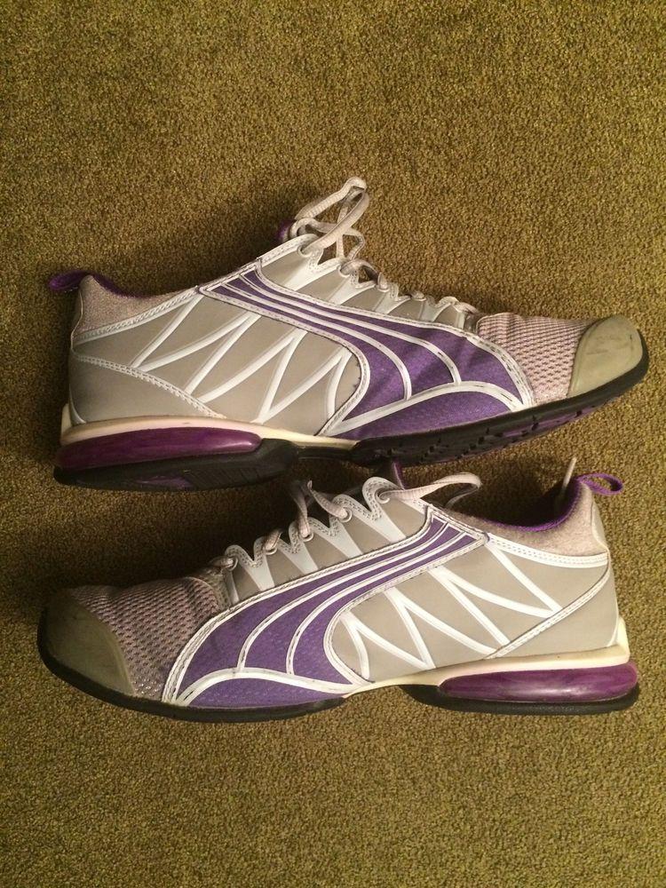 dbf7adc53 Women s Puma Sport Lifestyle Gray Purple Size 9  fashion  clothing  shoes