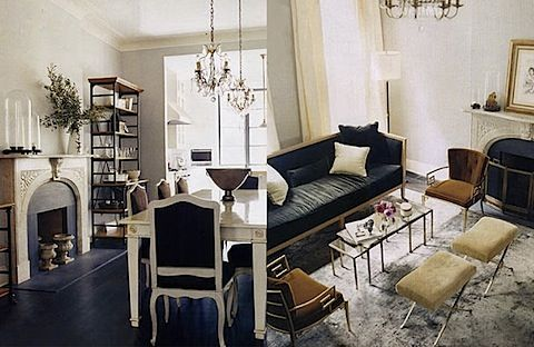 Berkus interior for katie lee i love every piece of furniture in her apt