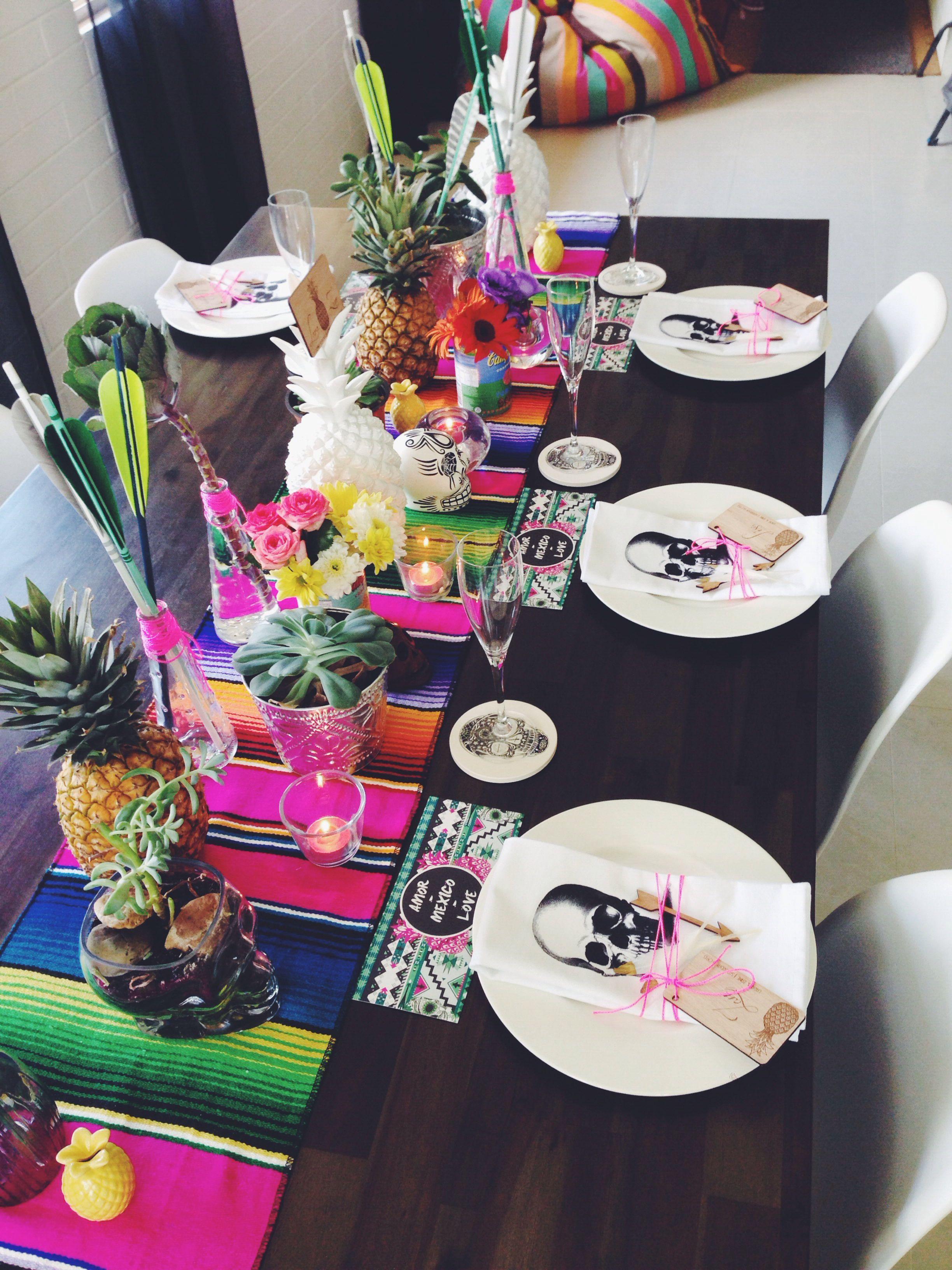 Mexican wedding styling | modern wedding | table decor ...