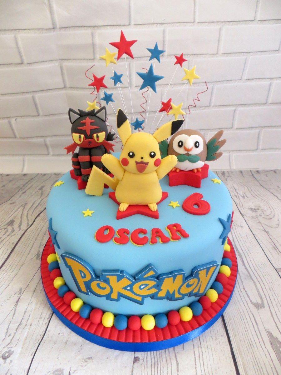 Pokemon Birthday Cakes Pokemon Birthday Cake Pokemon
