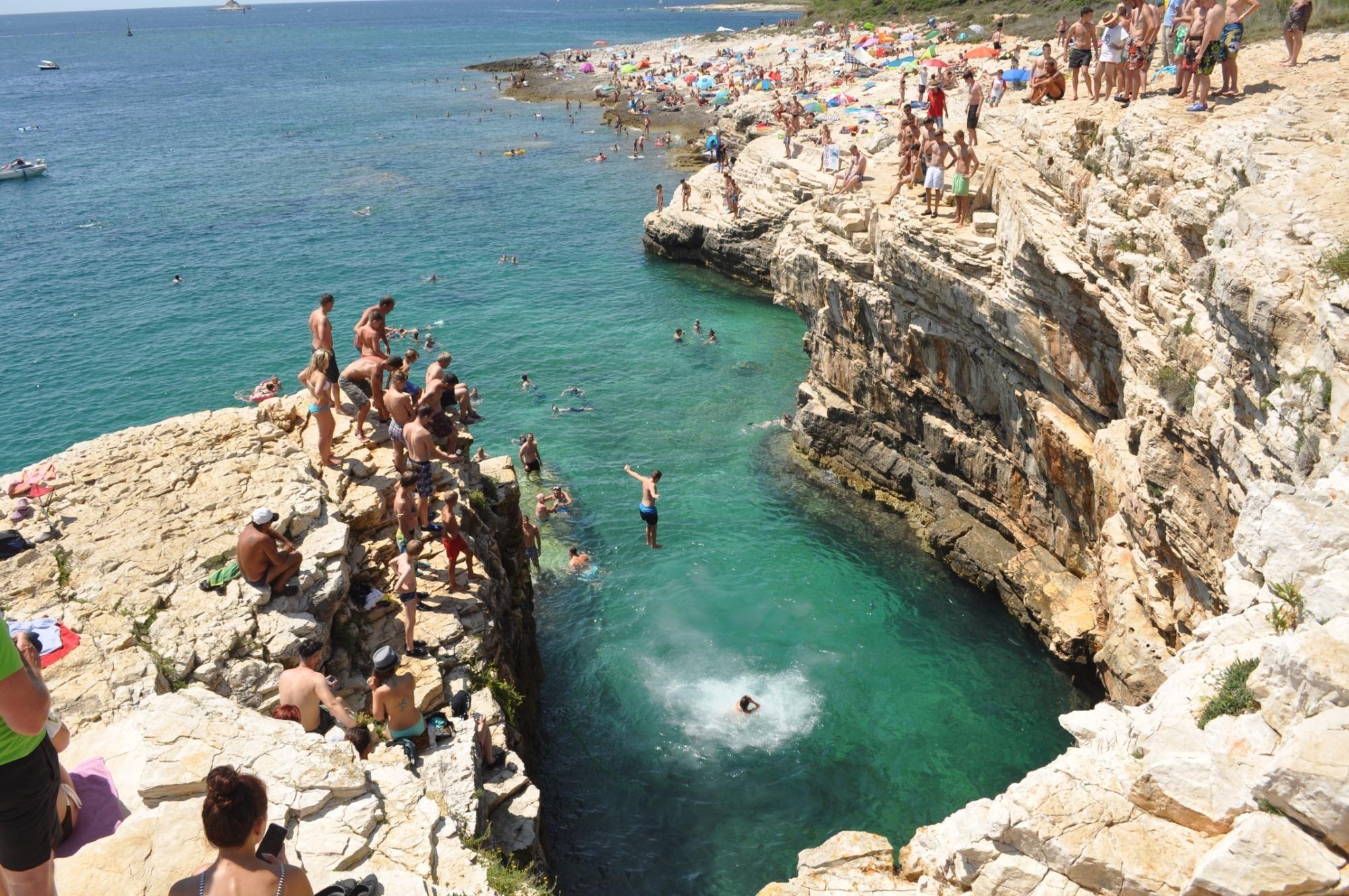 Diver's cliff Kap Kamenjak Kroatien, Kap kamenjak, Reisen