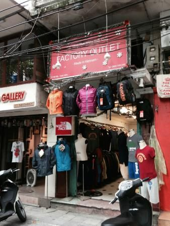 Northface outlet store  93 Ma May Old Quarter Hanoi
