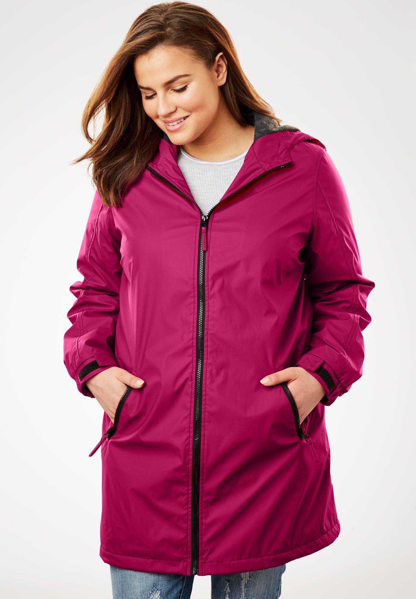 4f71c566 Hooded Slicker Raincoat | raincoat | Raincoat, Plus size raincoat ...