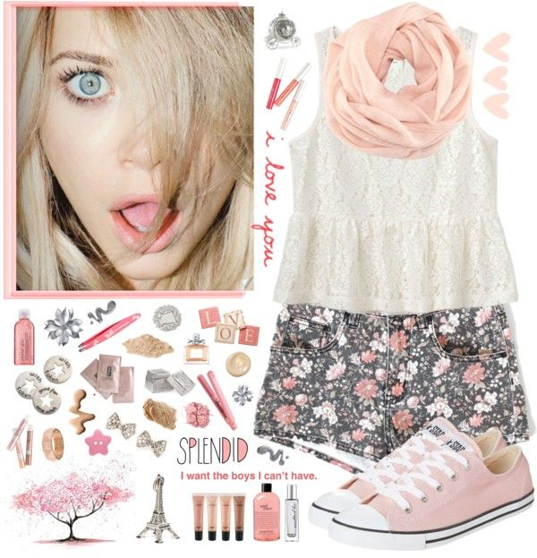 """Girls Just Wanna Have Fun"" by sunny-mint ❤ liked on Polyvore"