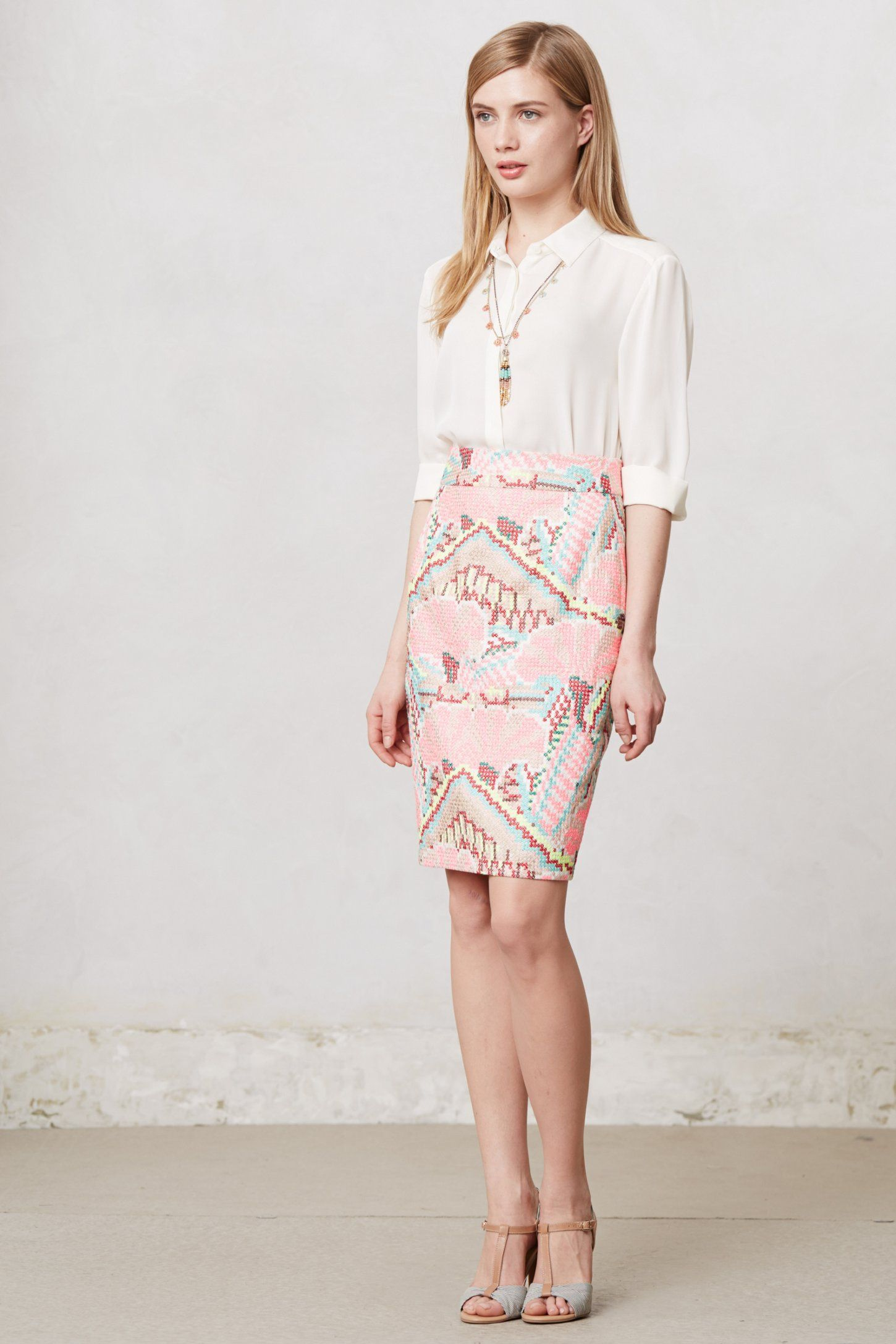 Daksha Stitched Skirt - to go with that top!