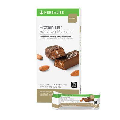 Protein Bar Deluxe Vanilla Almond Herbalife Protein Bars Herbalife Protein Protein Bars