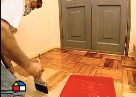C mo vitrificar piso de madera reparar y vitrificar los - Como reparar madera ...