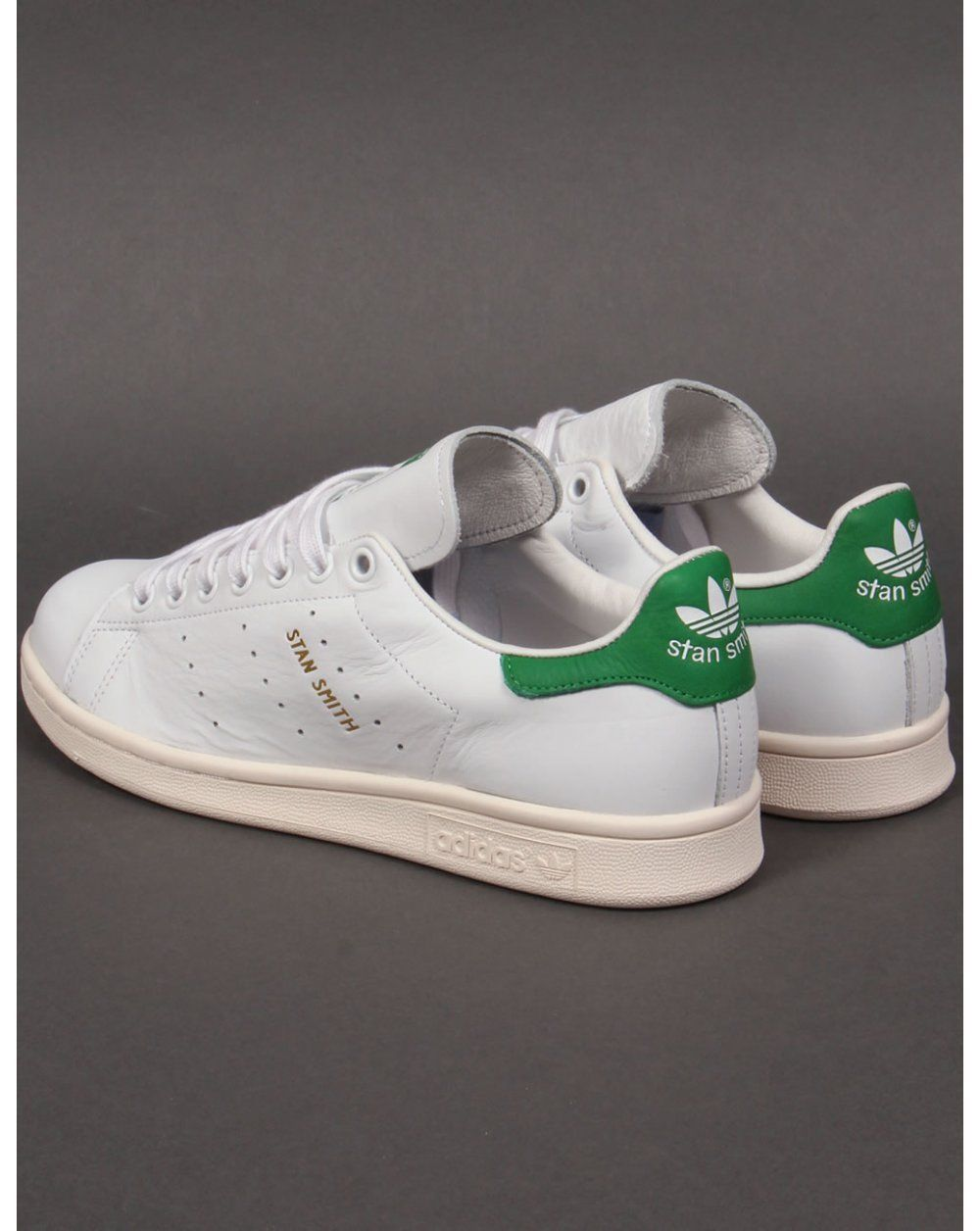 Details about Adidas Originals Stan Smith Trainers in White ...