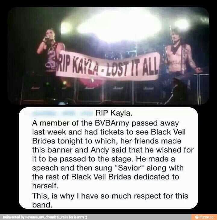 This is why I love black veil brides