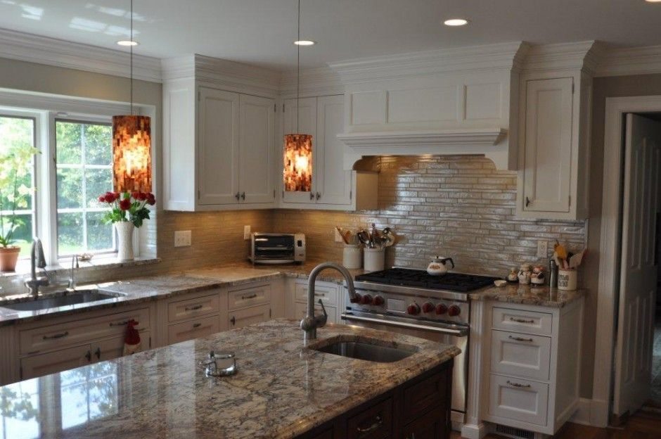 Small L Shaped Kitchen With Island  Granite Countertop Alluring L Shaped Kitchen Island Inspiration