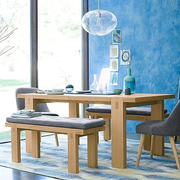 Modern Woodwork Dining Table #westelm  English Daisy Ct House Captivating Dining Room Sets In Ct Inspiration