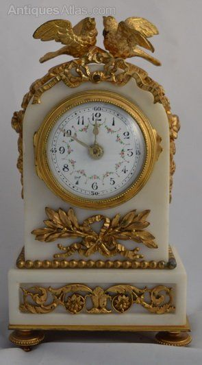 Antiques Atlas - Small French Mantel Clock