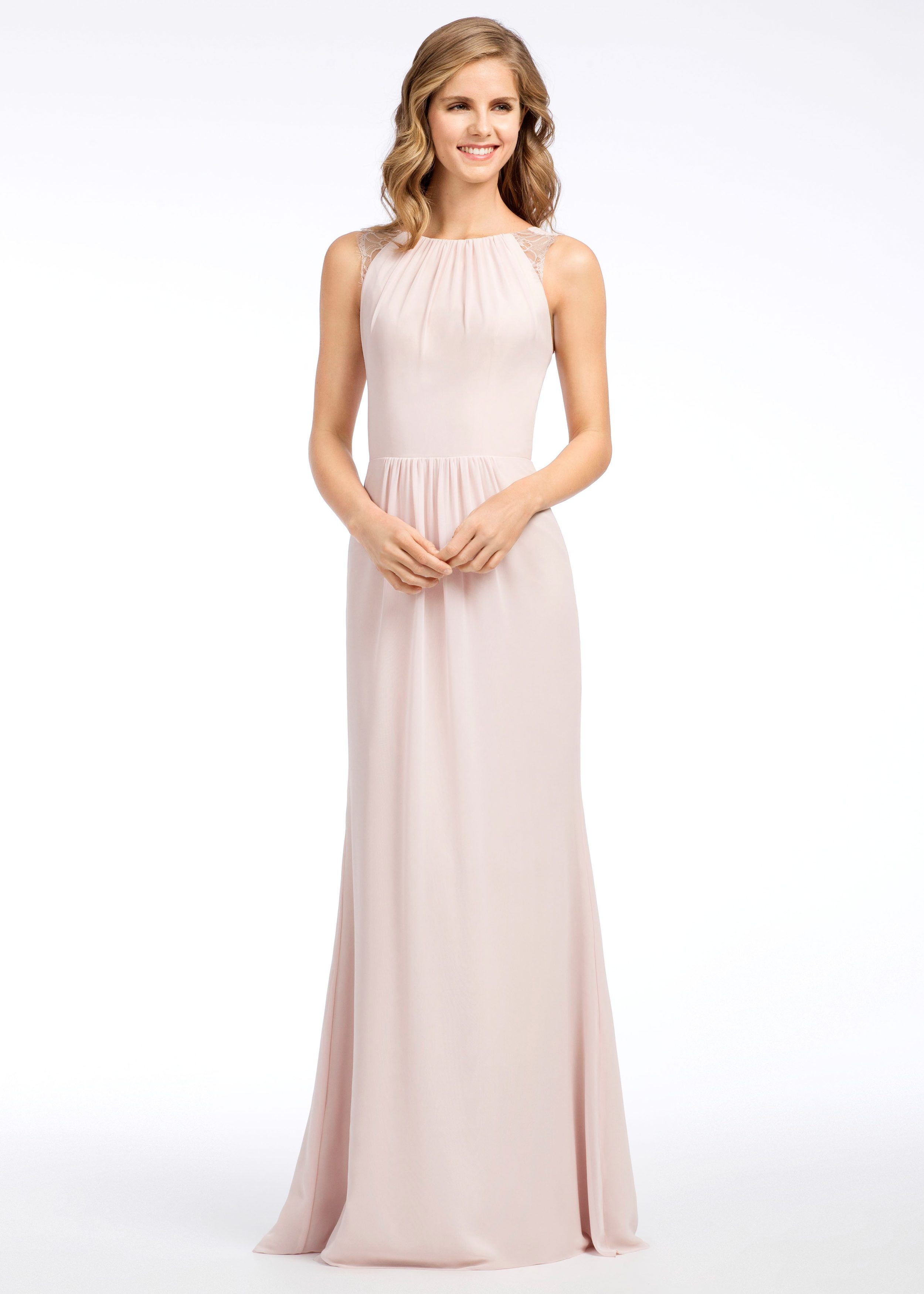Hayley paige occasions style blush bridesmaids dresses