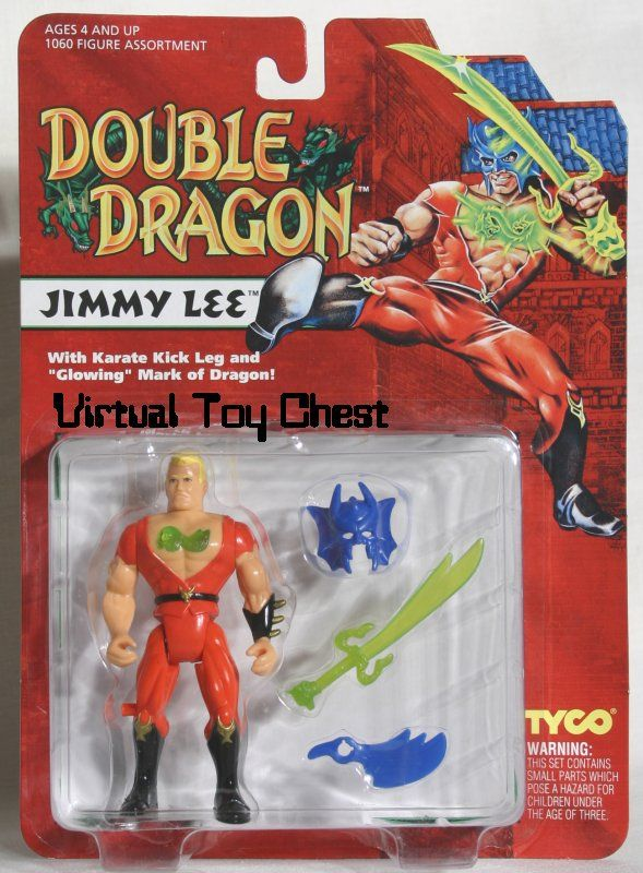 jimmy lee double dragon figure from tyco toys things i. Black Bedroom Furniture Sets. Home Design Ideas