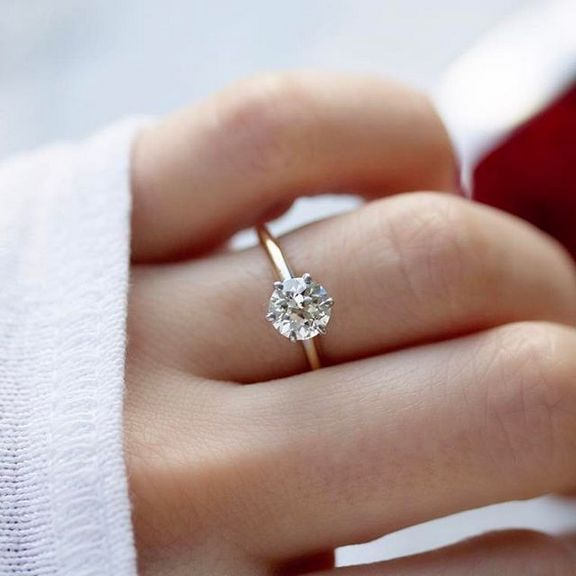 34 The Biggest Myth About Round Diamond Engagement Rings Thin Band