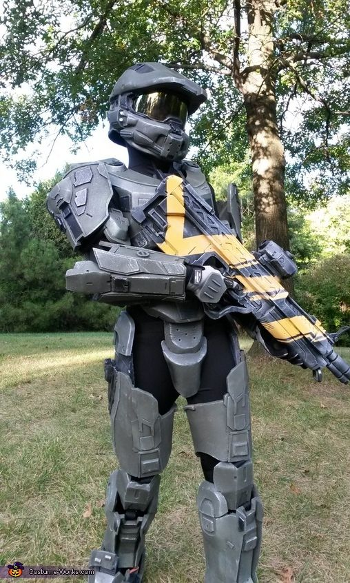 Halo 4 Master Chief Costume | Master chief costume, Master chief ...