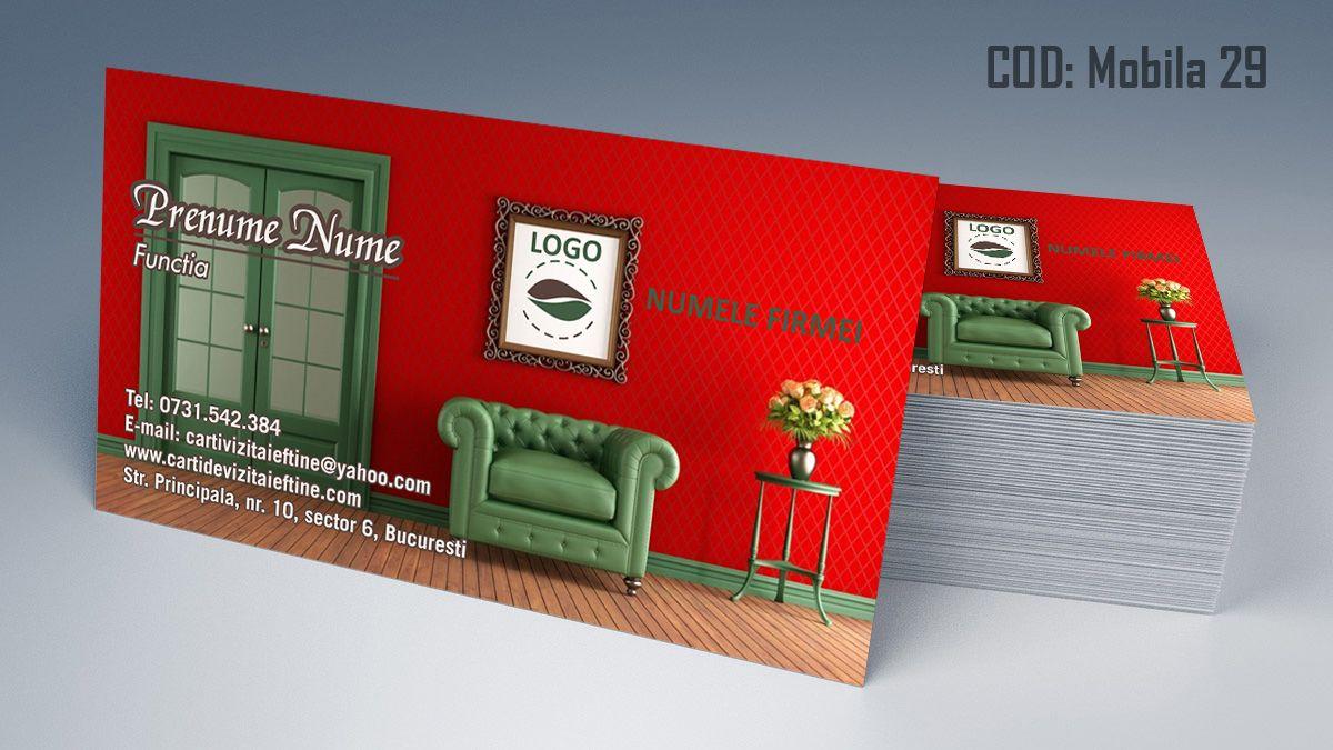 Carti De Vizita Amenajari Interioare Design Interior Mobila Lemn La Comanda