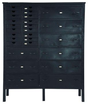 1290 hutch edison eclectic bookcases cabinets and - Armoire maison du monde occasion ...