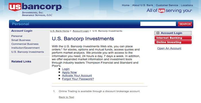 us bank business online login