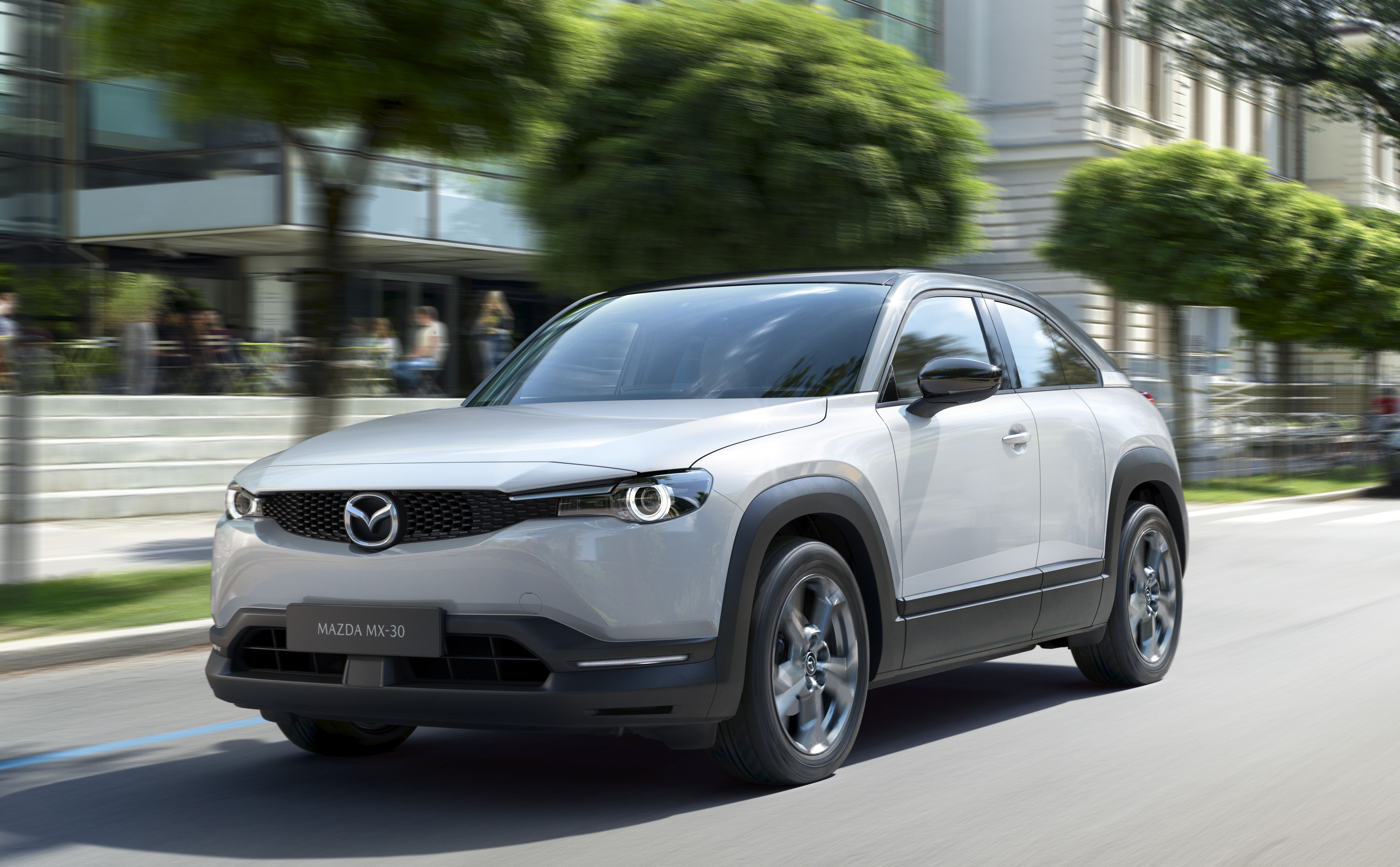 The 2020 Mazda Mx 30 Electric Crossover Has Sporty Ambitions Mazda Electric Crossover Mazda Mx