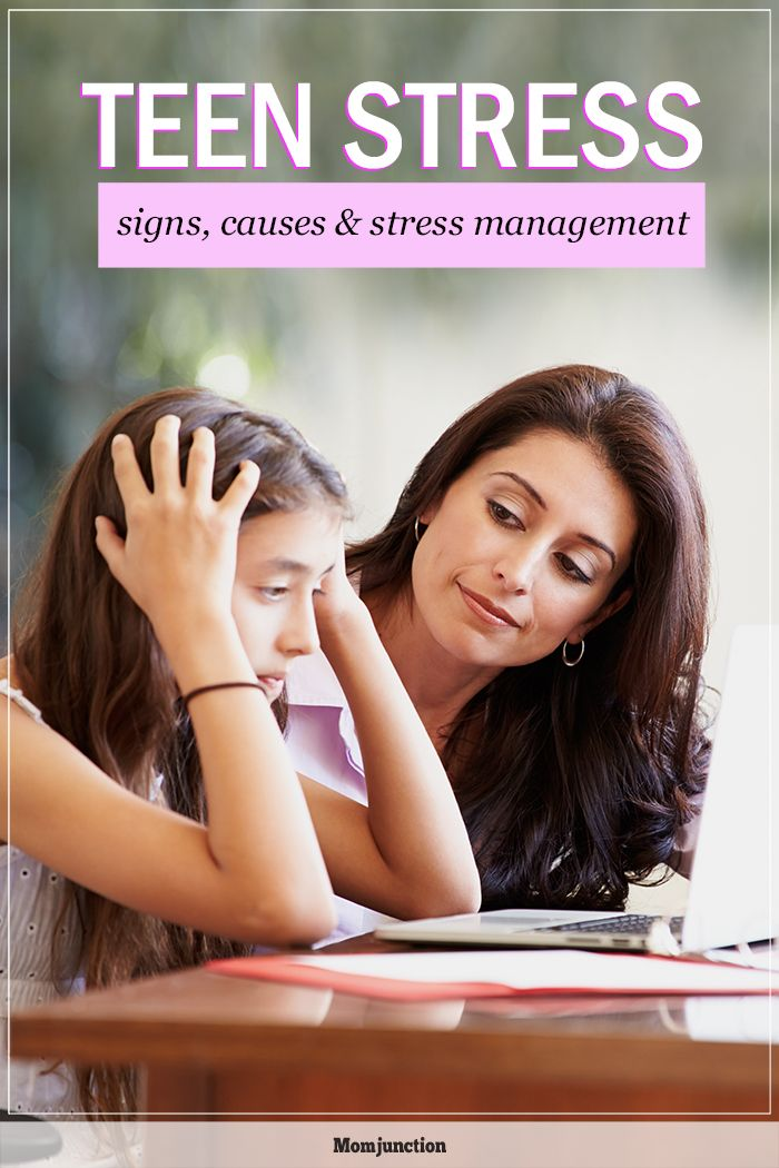 Teenage Stress: Symptoms And Management Tips