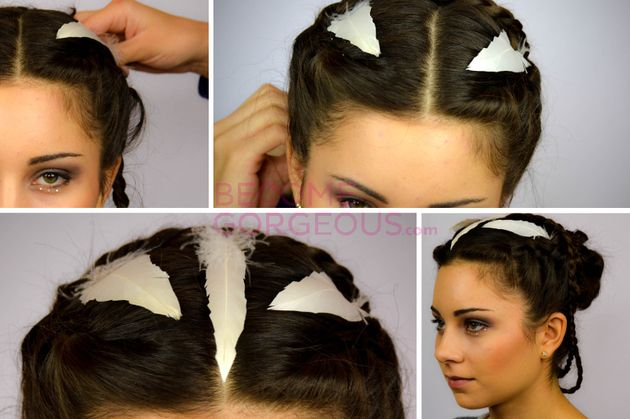 Magnificent 1000 Images About Hunger Games Hair On Pinterest Katniss Braid Short Hairstyles Gunalazisus