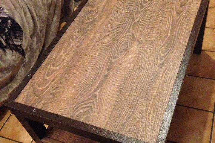 table lack industrielle r novation de meubles. Black Bedroom Furniture Sets. Home Design Ideas