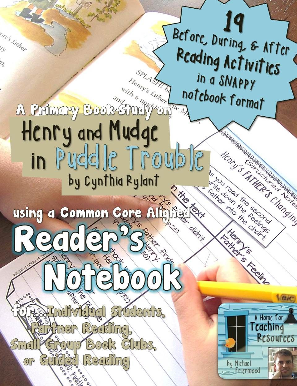 Henry and Mudge in Puddle Trouble {A Book Study} | Pinterest