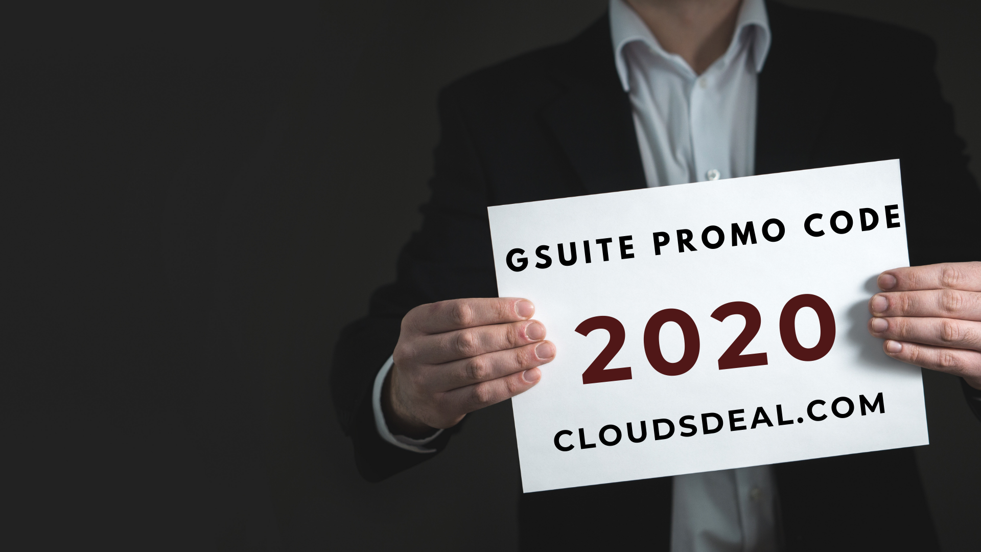 Get flat 20 off on GSuite for the first year. Apply our
