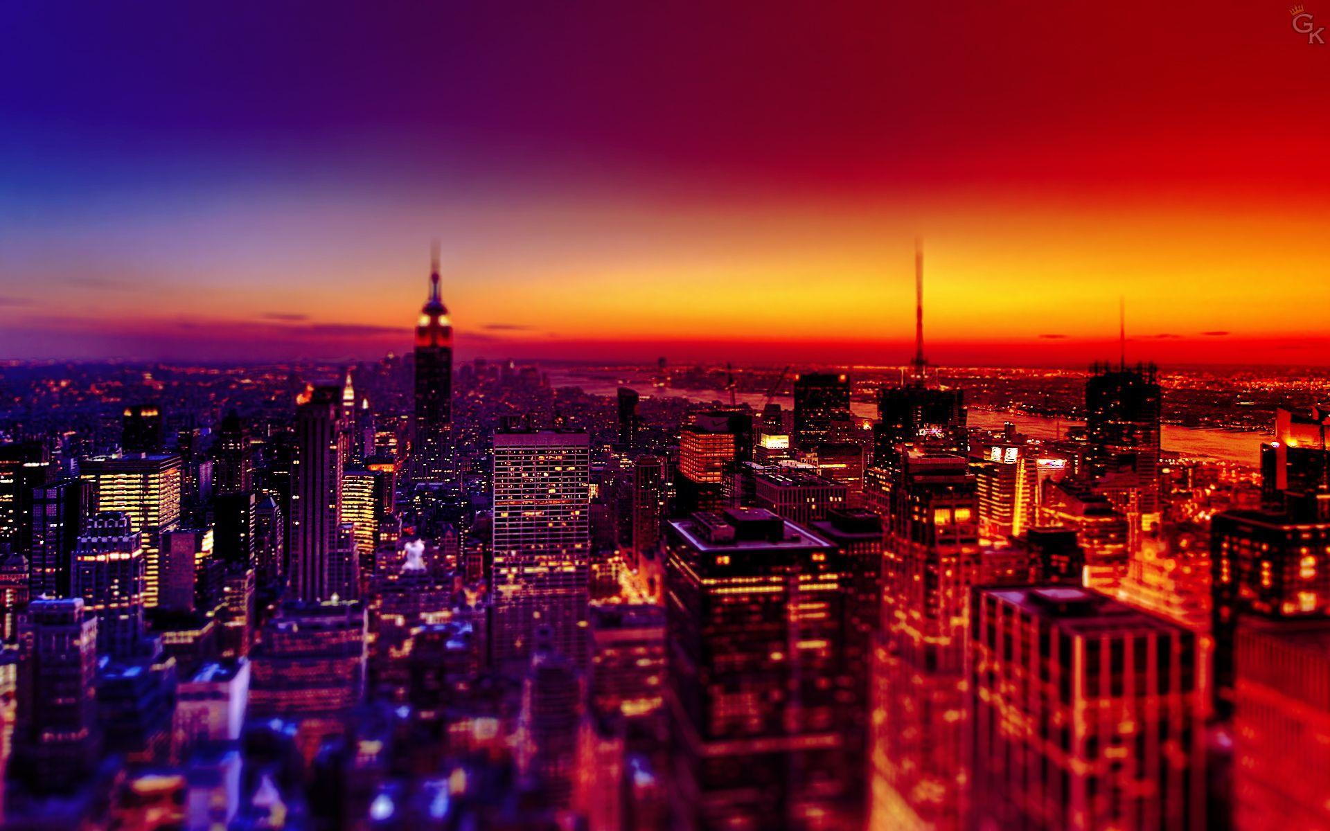 Best Photo City Wallpaper Night Landscape Landscape Wallpaper