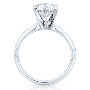 My Dream Ring Love The Classic 6 Prong Setting Tiffany Engagement Ring Engagement Rings Diamond Solitaire Engagement Ring