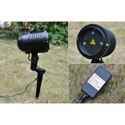 Outdoor 240mW RGB Laser Projector - IP65 Waterproof Rating, Suitable - outdoor christmas decorations wholesale