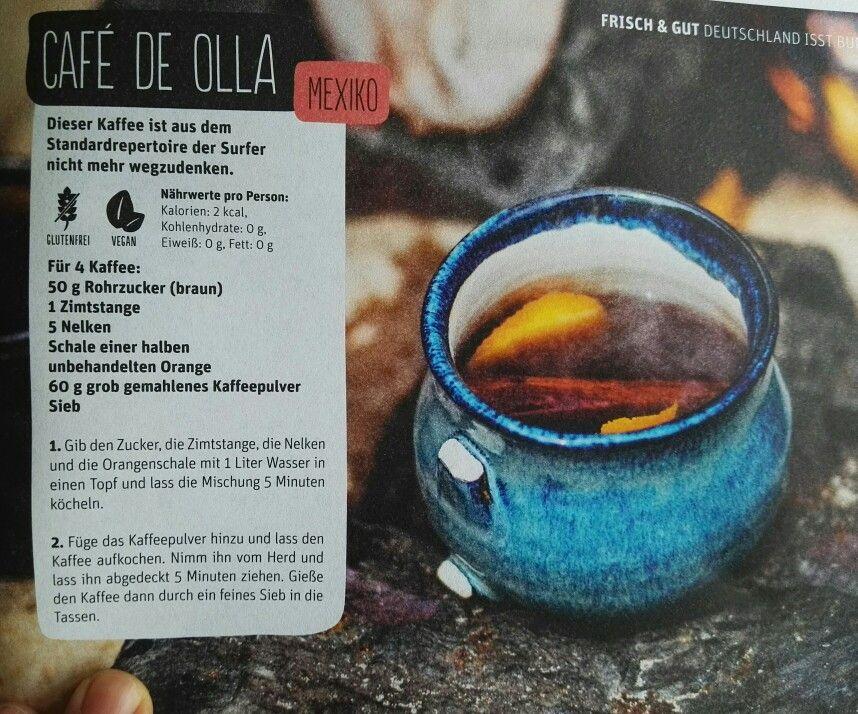 Cafe De Olla Ohne Kohlenhydrate Rohrzucker Zimtstangen