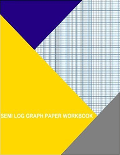 Semi Log Graph Paper Workbook  Decade By  Divisions Thor