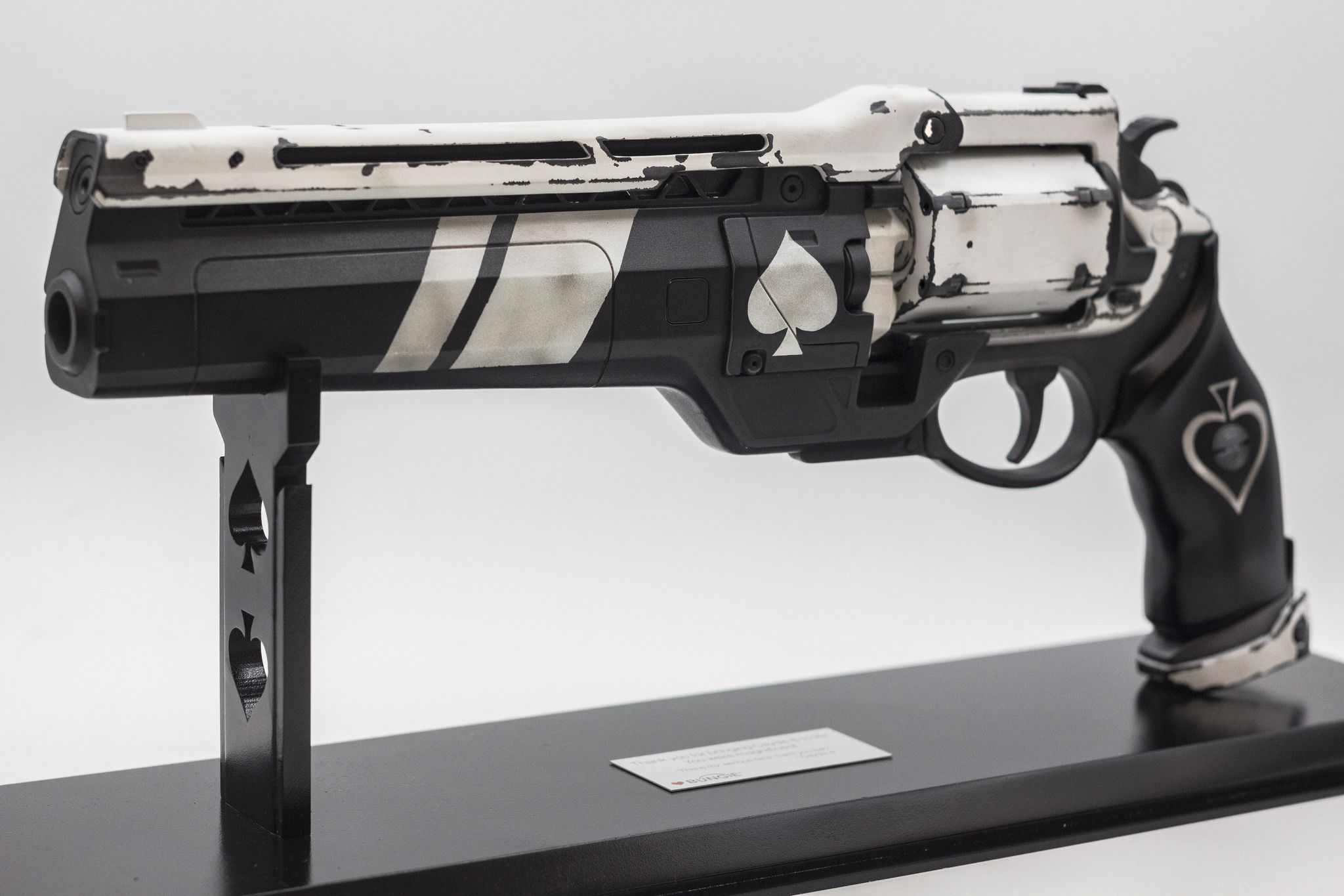 6b8f9ba990d I made an official Destiny Ace of Spades replica for Nathan Fillion ...